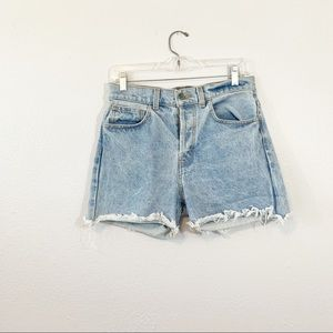 Brandy Melville John Galt Shorts High Rise Denim